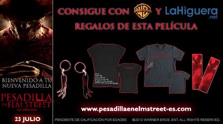 Info concurso Pesadilla en Elm Street (El origen)
