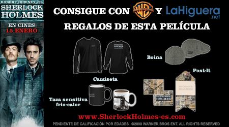 Info concurso Sherlock Holmes