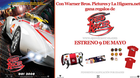 Info concurso Speed Racer