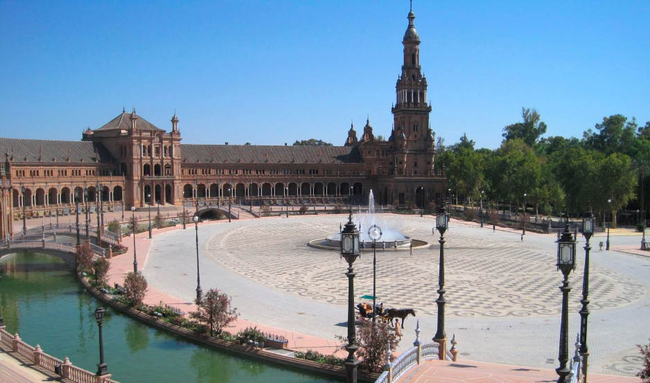 Plaza de Espana en Sevilla