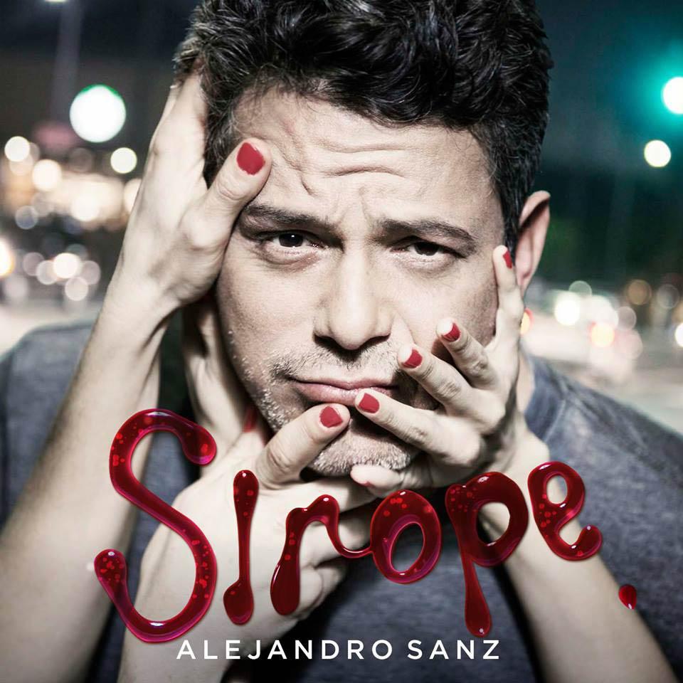 Alejandro sanz sirope la portada del disco for Cancion en el jardin de alejandro fernandez