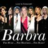 Barbra Streisand: The music...The mem'ries...The magic! Live in concert - portada reducida