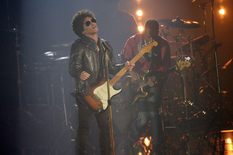 Bruno Mars en los MTV EMAs 2013
