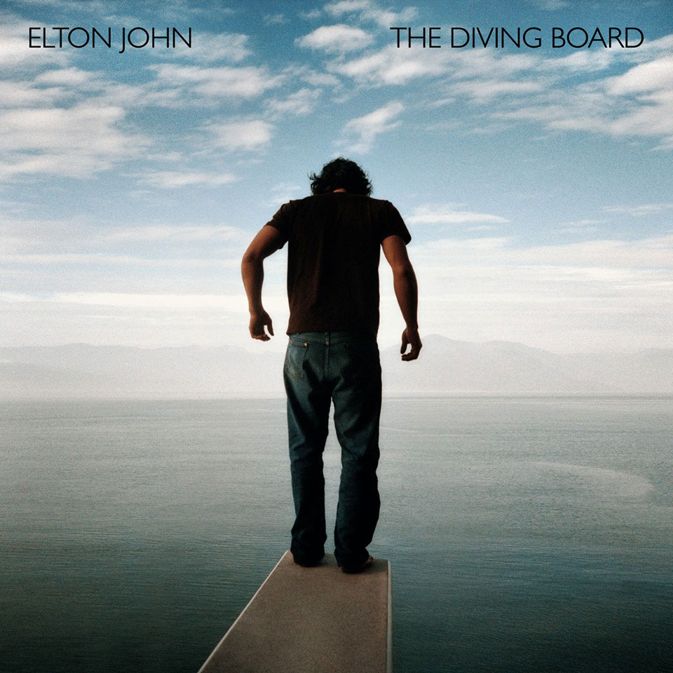 Diving board, portada del disco de Elton John