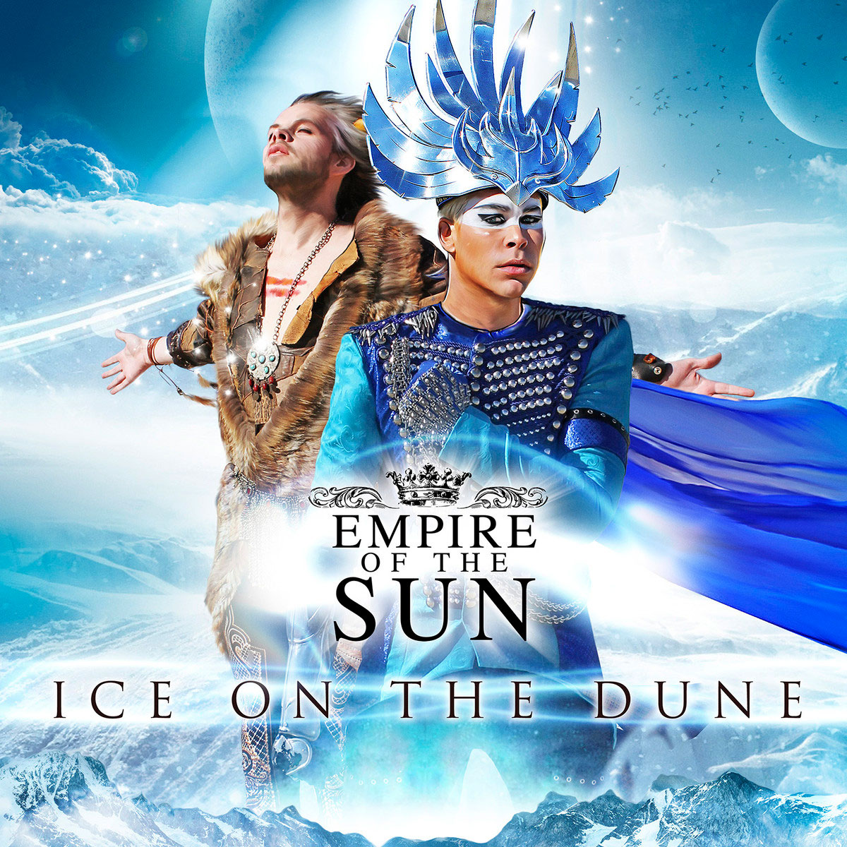 Empire of the Sun, portada de Ice on the Dune