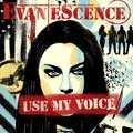 Evanescence: Use my voice - portada reducida