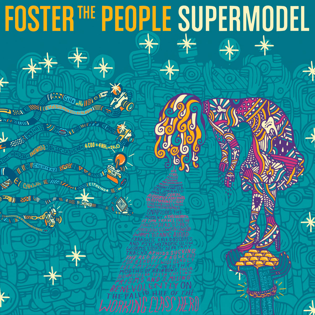 Portada del nuevo disco de Foster the People: Supermodel