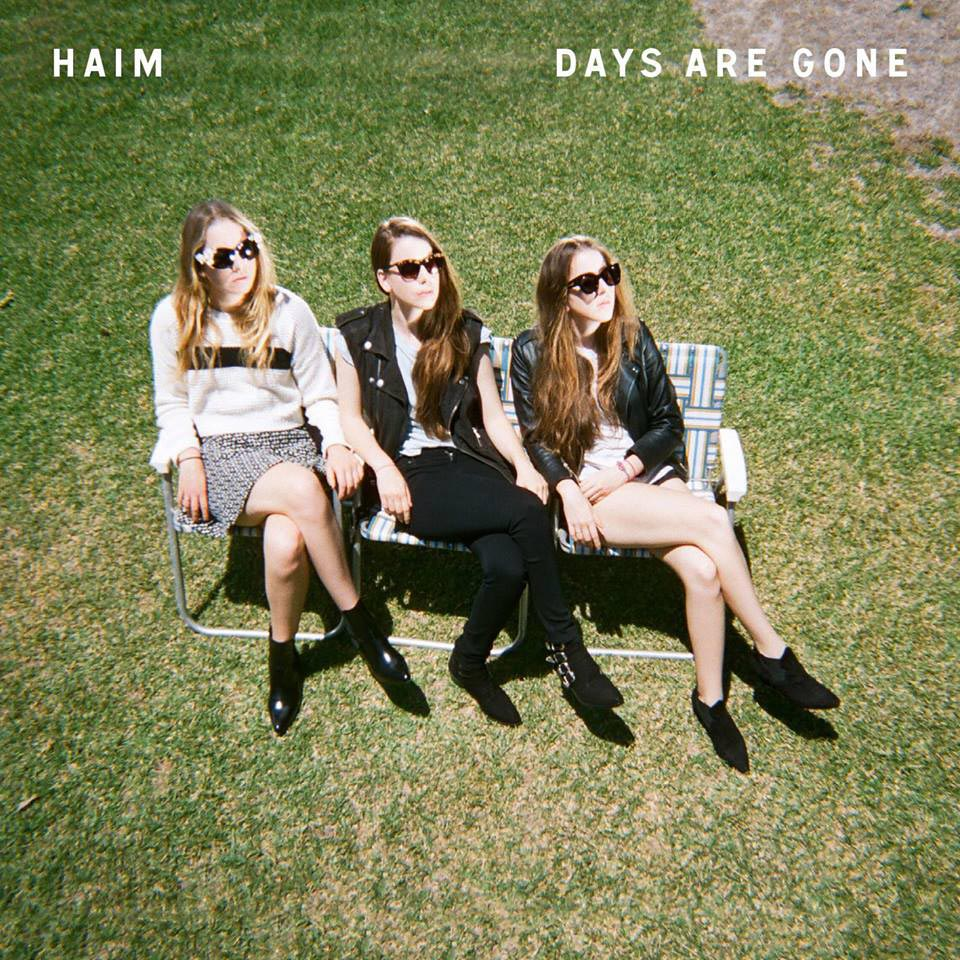 Haim: Days are gone - la portada del disco