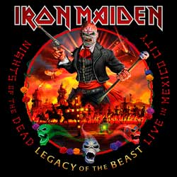 Iron Maiden: Nights of the dead, Legacy of the beast. Live in Mexico City - portada mediana