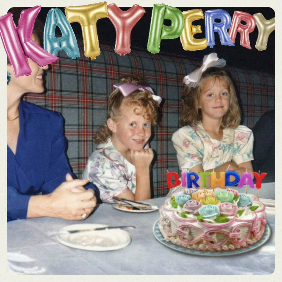 Katy Perry: Birthday - la portada del single