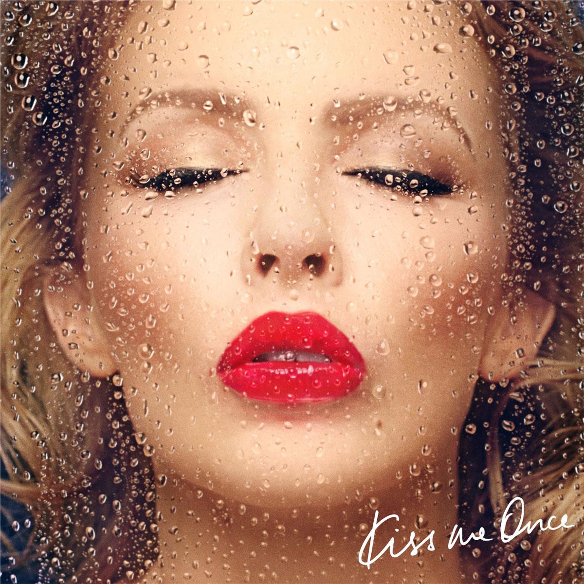 Kylie Minogue: Kiss me once - portada
