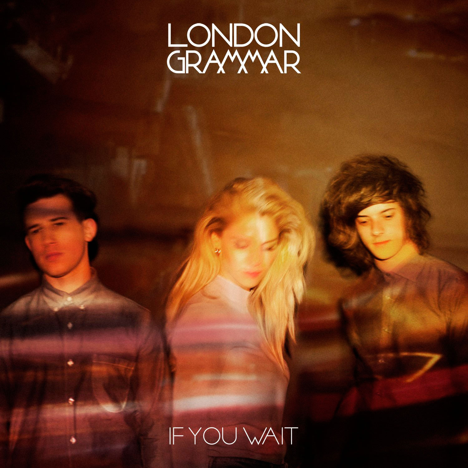 Portada del disco If you wait de London Grammar