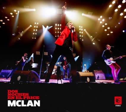 M Clan: Dos noches en el Price, la portada del disco