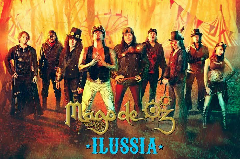 Mago de Oz foto de promo Ilussia