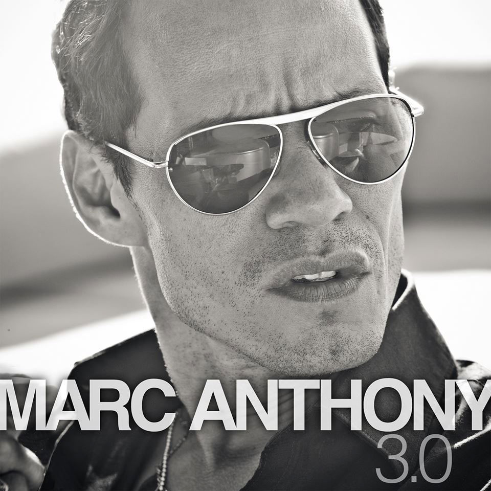 La portada del disco 3.0, de Marc Anthony