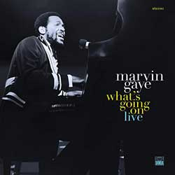Marvin Gaye: What's going on live - portada mediana
