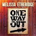 Melissa Etheridge: One way out - portada reducida