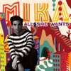 Mika: All she wants - portada reducida