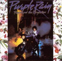Car�tula del Purple Rain, Prince
