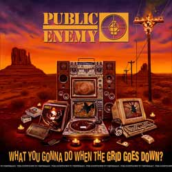 Public Enemy: What you gonna do when the grid goes down - portada mediana