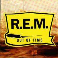 Carátula del Out Of Time, R.E.M.