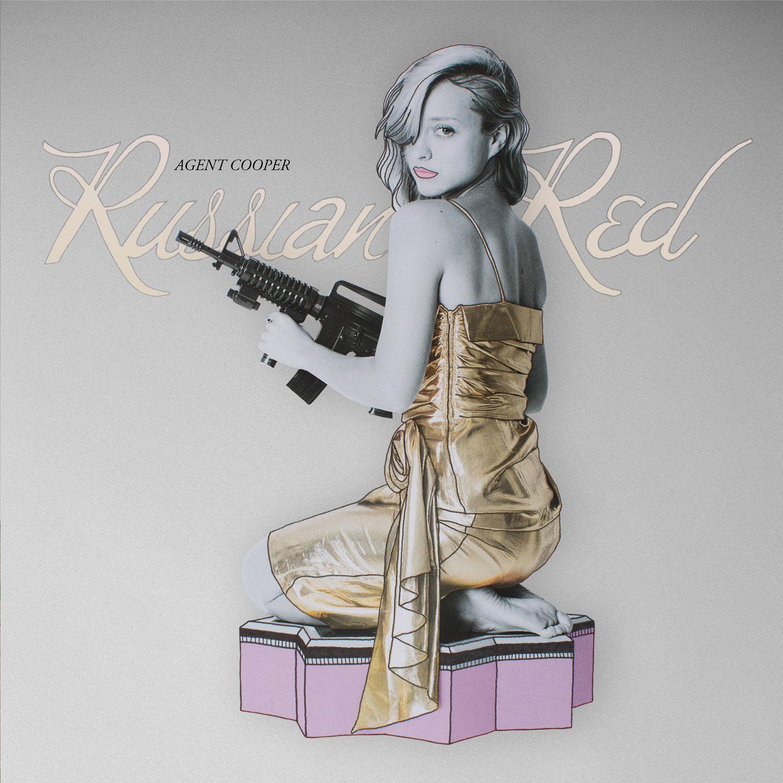 Russian Red: Agent Cooper - la portada del disco