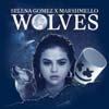 Selena Gomez con Marshmello: Wolves - portada reducida