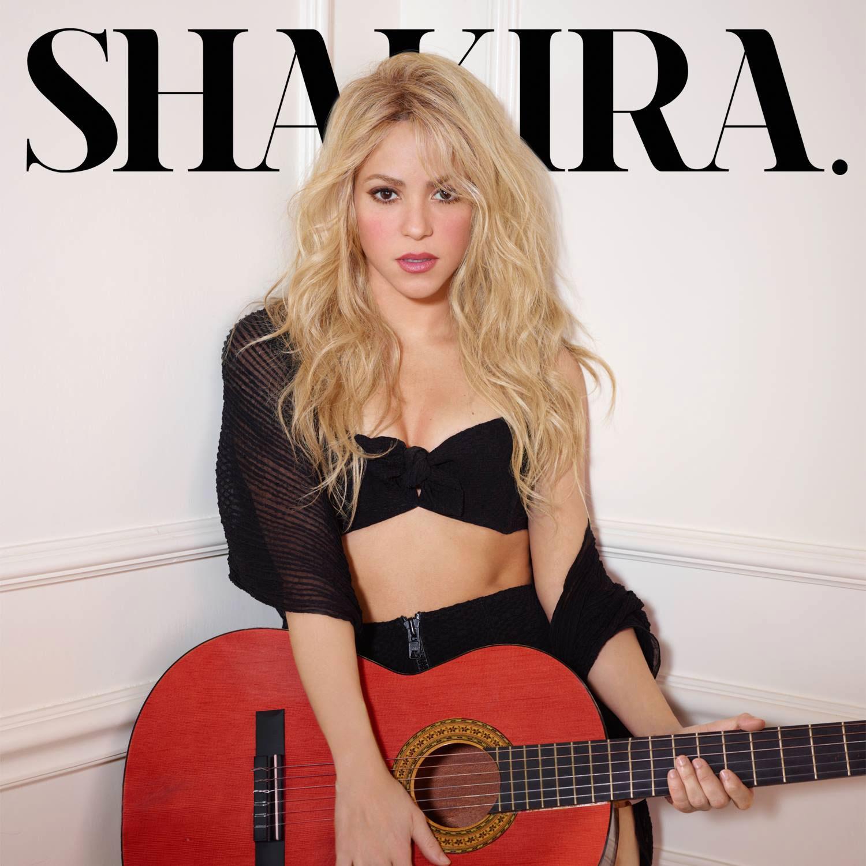 Shakira - portada de la edición deluxe