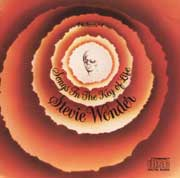 Carátula del Songs in the key of life, Stevie Wonder