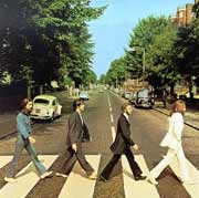 Carátula del Abbey Road, The Beatles