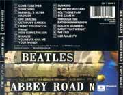 The Beatles contraportada Abbey Road