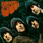 Carátula del Rubber Soul, The Beatles