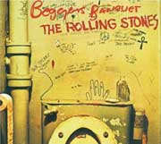 Carátula del Beggar's Banquet, The Rolling Stones