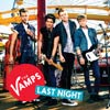 The Vamps: Last night - portada reducida