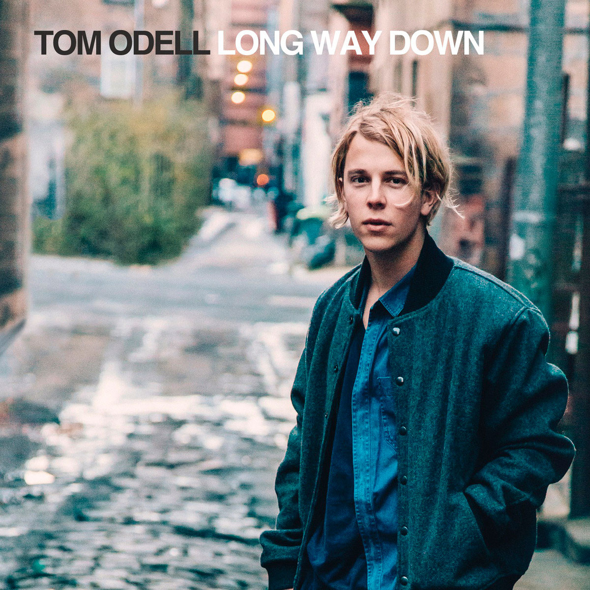 Tom Odell, portada del disco Long way down