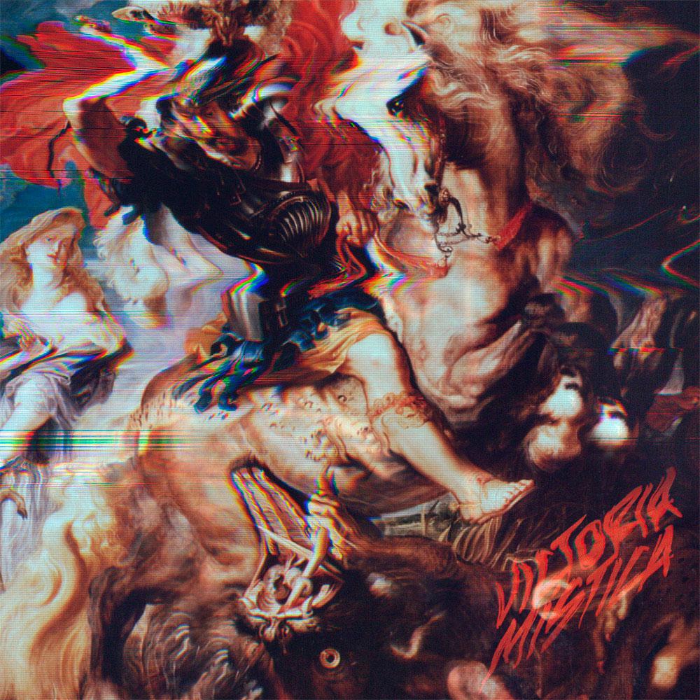 Triángulo de Amor Bizarro, la portada del disco Victoria mística