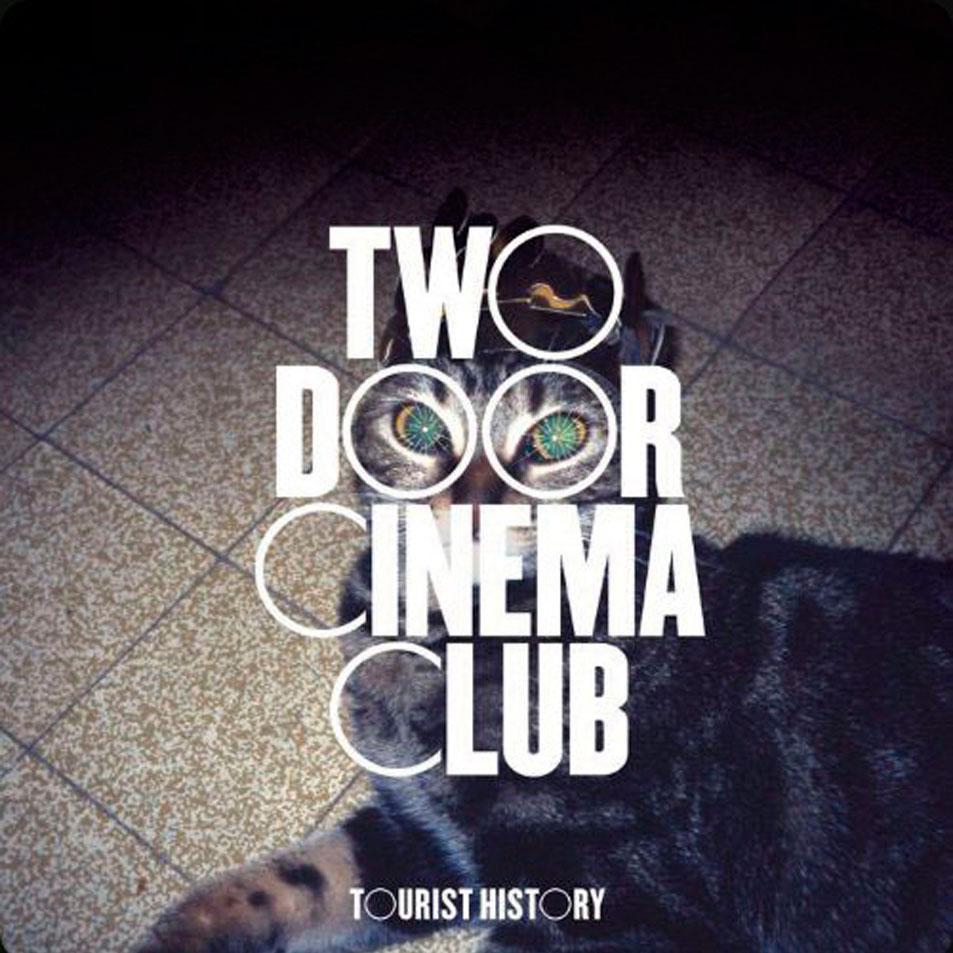 Two door cinema club: Tourist history, la portada del disco