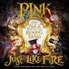 Just like fire - portada reducida