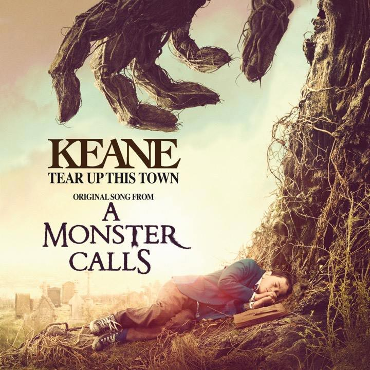 Keane, la portada de Tear up this town