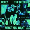 Belly con The Weeknd: What you want - portada reducida