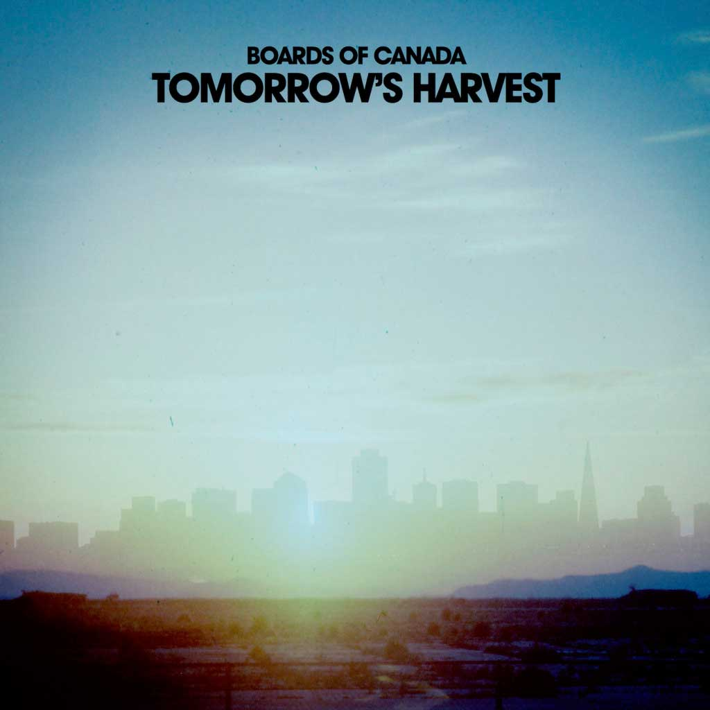 Boards of Canada: Tomorrow's harvest - la portada del disco