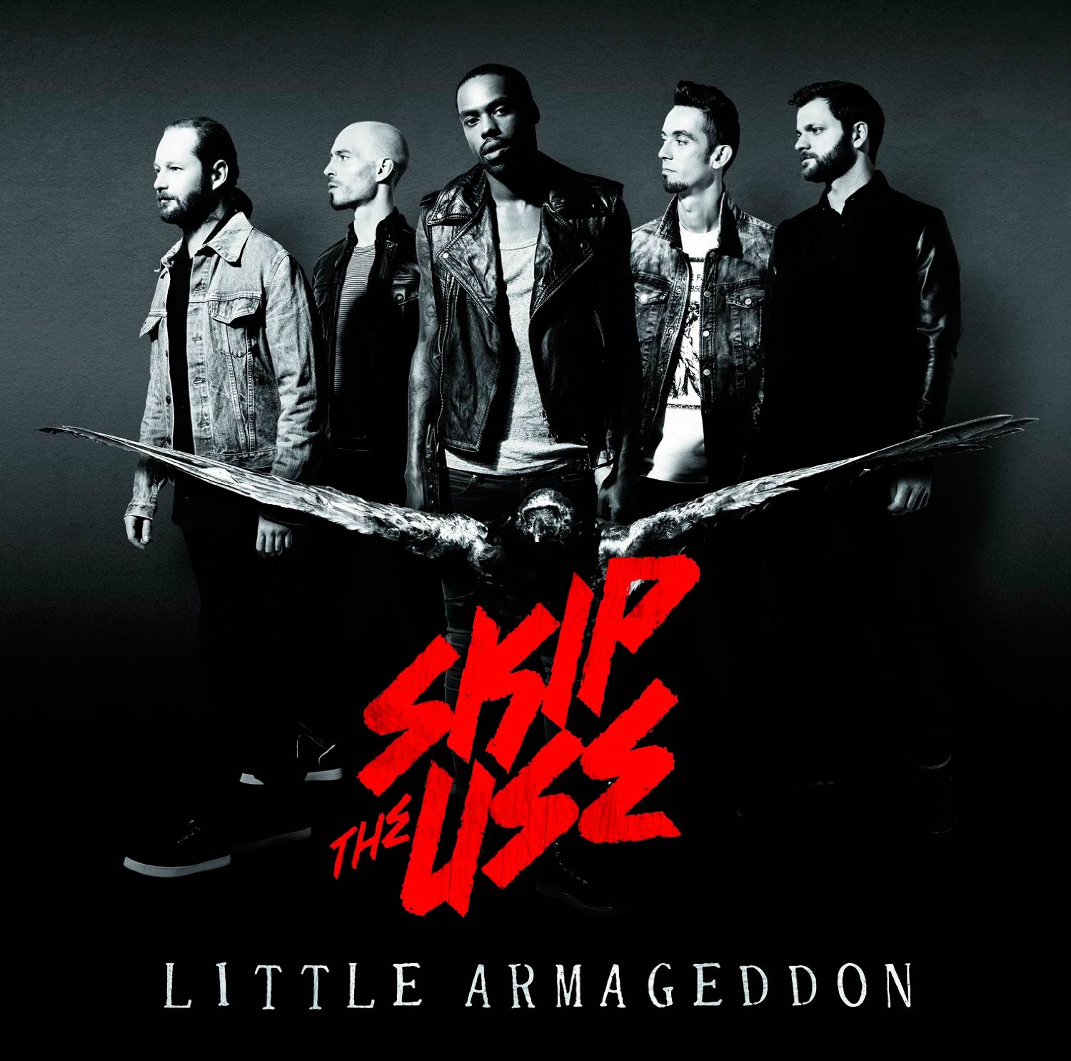 Portada del disco Little Armageddon de Skip the use