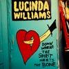 Lucinda Williams: Down where the spirit meets the bone - portada reducida
