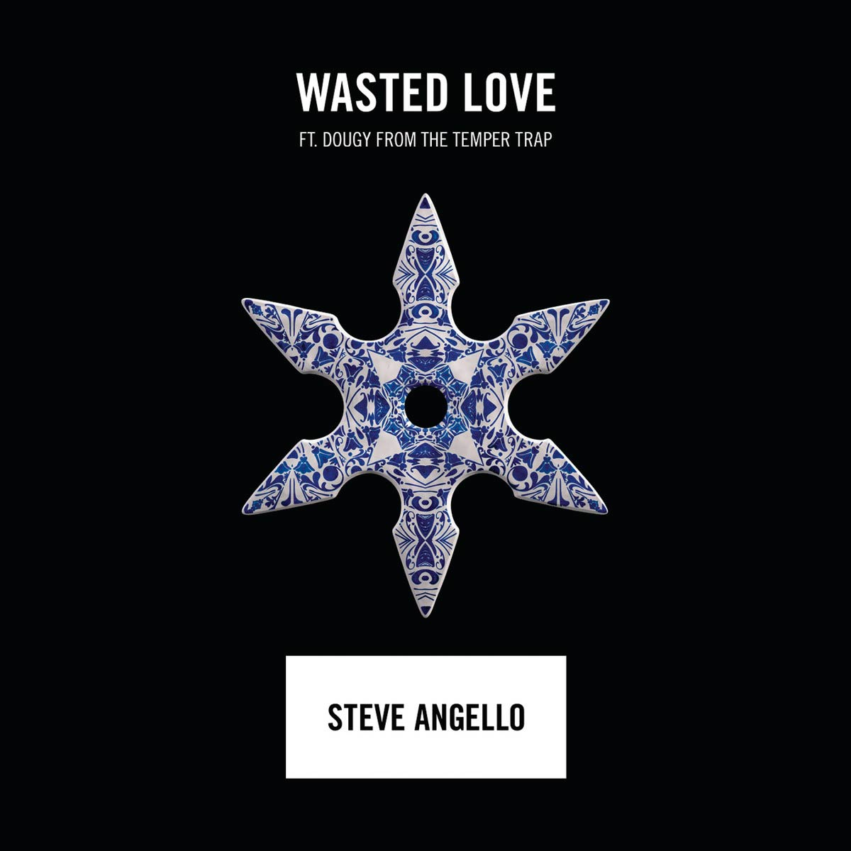 Steve Angello con Dougy: Wasted love - la portada de la canción