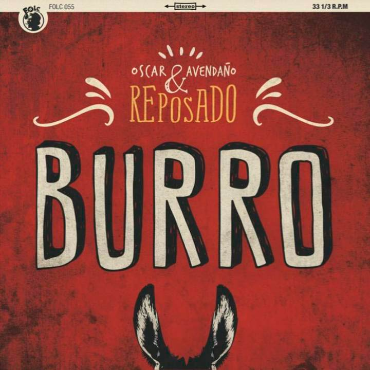 FOLC013 OSCAR AVENDAÑO Y LOS PROFESIONALES (Siniestro Total) Oscar_avendano_&_reposado_burro-portada