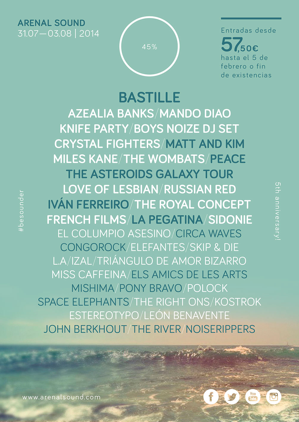 Arenal Sound Cartel 2014