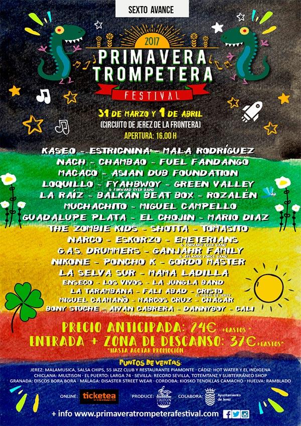 Cartel Primavera Trompetera Festival