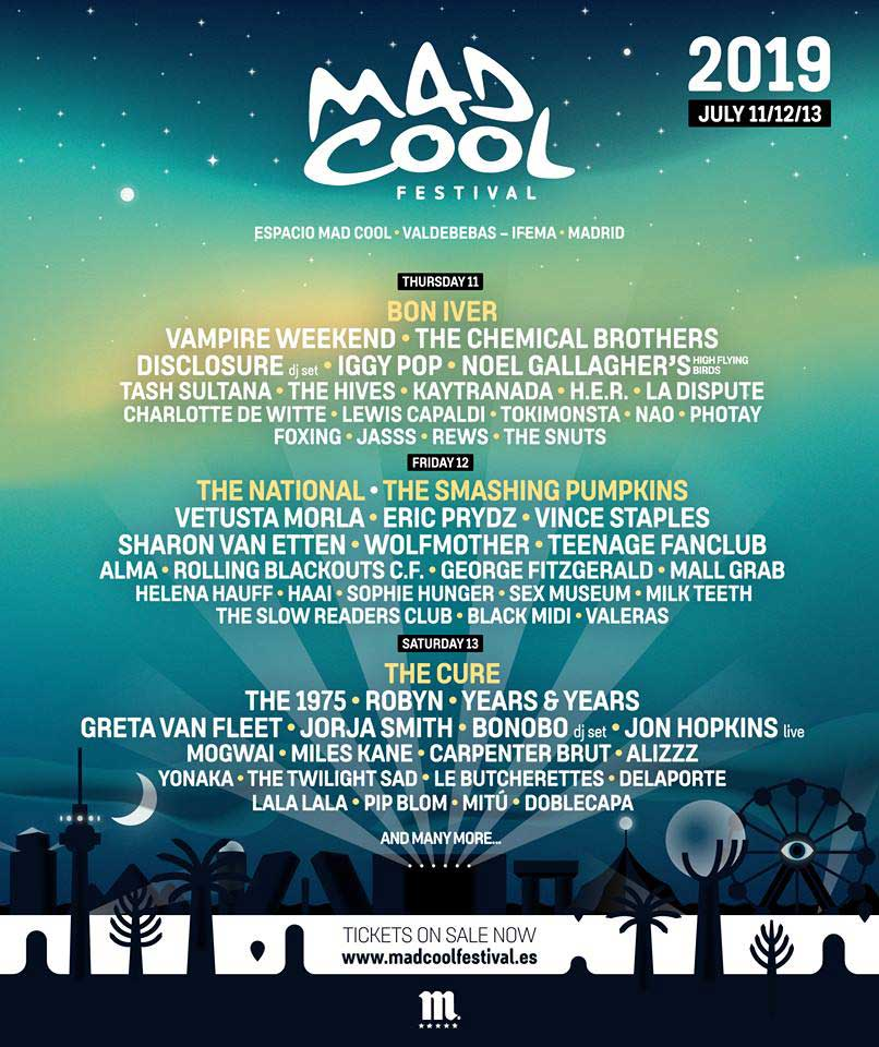 Cartel Mad Cool Festival 2019