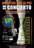 """Concierto """"Artistas por la paz"""""""