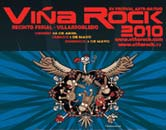 Cartel Viña Rock 2010